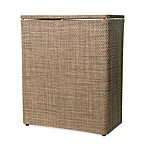 Lamont Home™ Roxie Upright Hamper in Brown/Multi