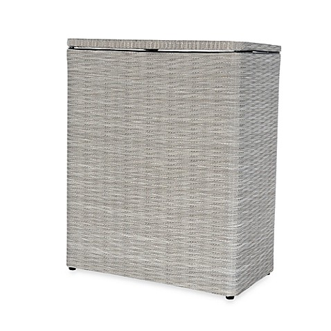Lamont Home™ Aiden Upright Hamper in Taupe