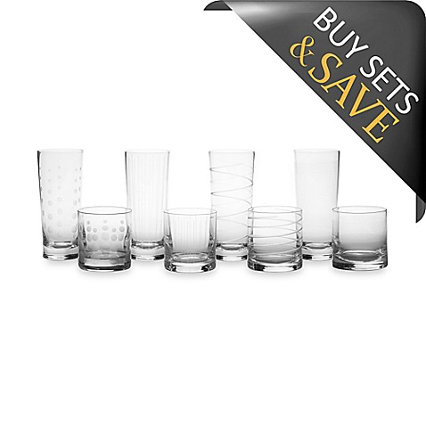 Mikasa® Cheers Highball/Double Old-Fashioned Glasses (Set of 8)