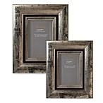 Eccolo™ Weathered 4-Inch x 6-Inch Photo Frame in Pewter