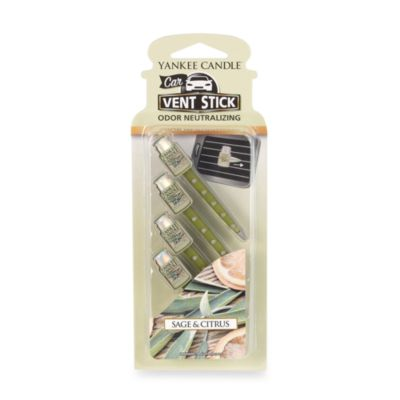 Yankee Candle® Car Vent Sticks - Sage & Citrus