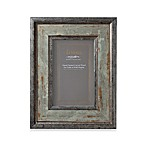 Argento Silver-Green Antiqued 4-Inch x 6-Inch Photo Frame