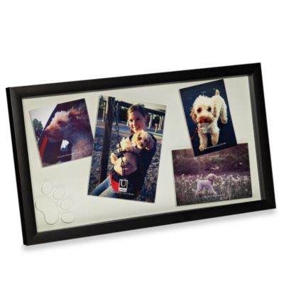 Umbra® Treasure Pet Picture Frame in Black