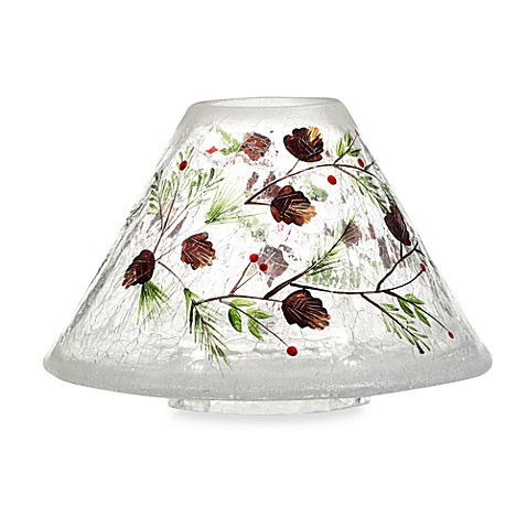 Yankee Candle Pinecone Crackle Jar Shade