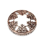 Yankee Candle® Illuma-Lid® Jar Candle Topper - Bronze Leaf