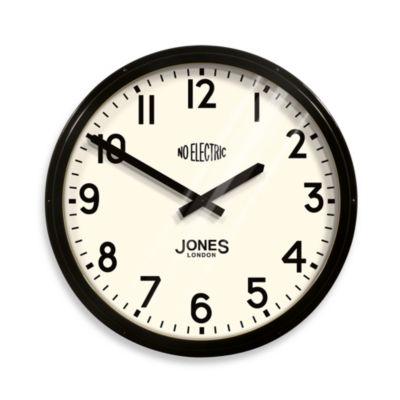 Jones® 23 1/2-Inch Retro Railway Station Clock