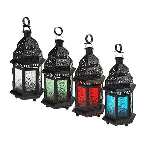 Glass Moroccan Lanterns