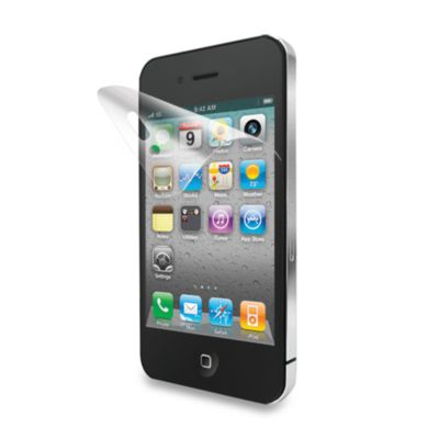 iLuv® Clear Screen Protector Film for iPhone® 4S/4