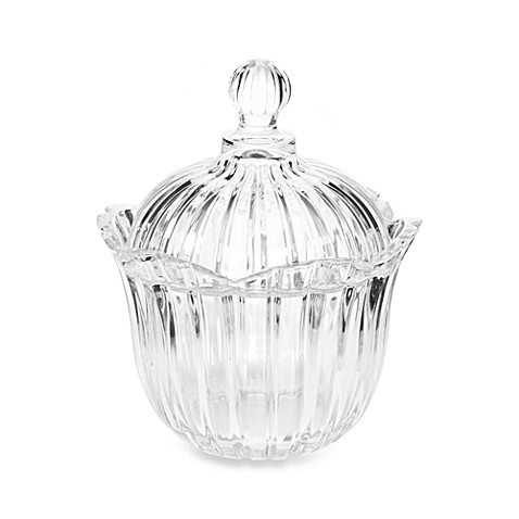 Crystal Clear Alexandria Candy Dish
