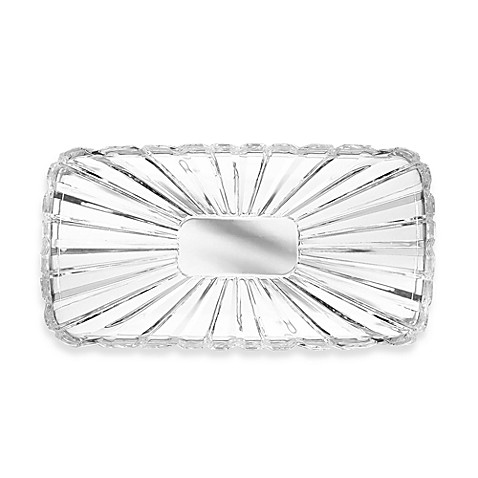 Crystal Clear Alexandria Oblong Tray