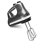 KitchenAid® 6-Speed Hand Mixer in Contour Silver