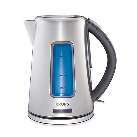 Krups® 1.8-Quart Stainless Steel Cordless Electric Kettle