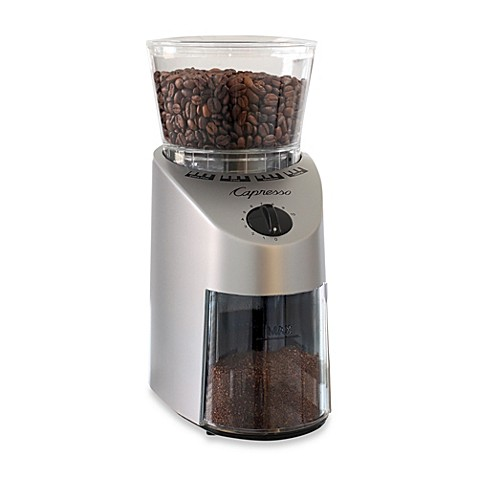 Capresso® Infinity Conical Burr Coffee Grinder