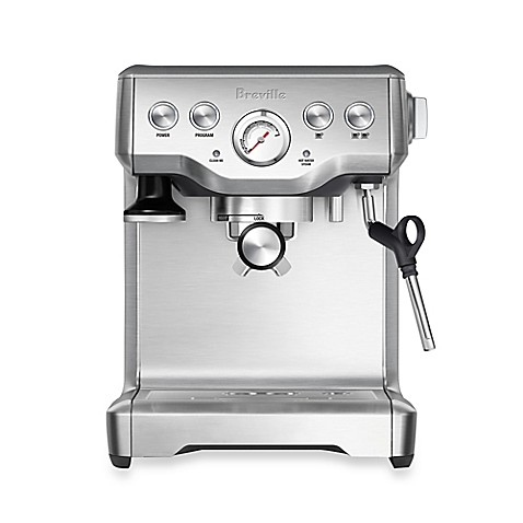 Breville® Infuser BES840XL Espresso Machine in Stainless Steel