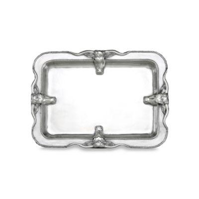 Arthur Court Designs Longhorn™ 18-Inch x 14-Inch Large Platter