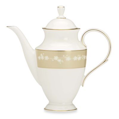 Lenox® Bellina® Gold 48-Ounce Coffeepot