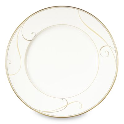 Noritake® Golden Wave 11-Inch Dinner Plate