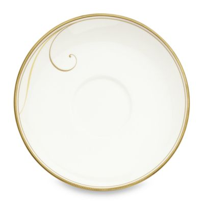 Noritake® Golden Wave 6 1/4-Inch Saucer