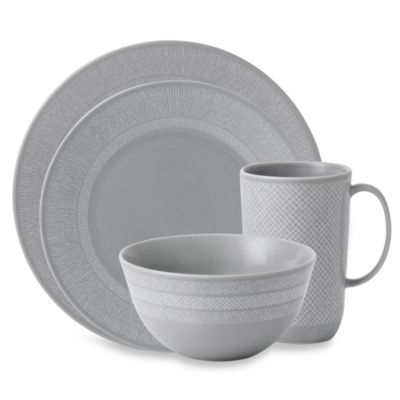 Vera Wang Wedgwood® Simplicity Grey 4-Piece Place Setting