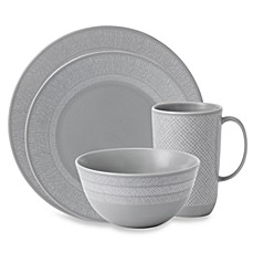 Vera Wang Wedgwood® Simplicity 4-Piece Place Setting in Grey
