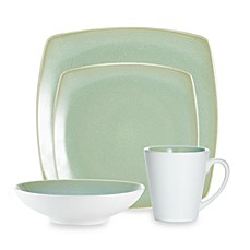 Noritake® Kealia Green Square 4-Piece Place Setting