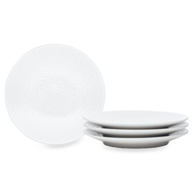 Noritake® WoW Snow 4-Piece Appetizer Plate Set