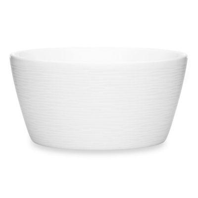 Noritake® White on White Swirl Round Cereal Bowl