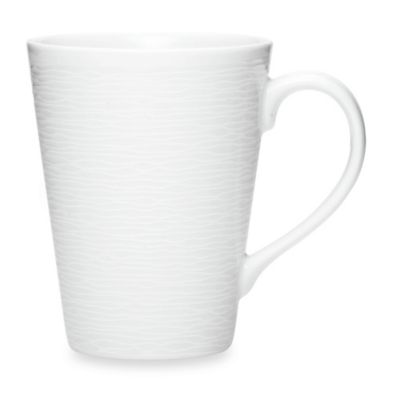 Noritake® White on White Swirl Mug