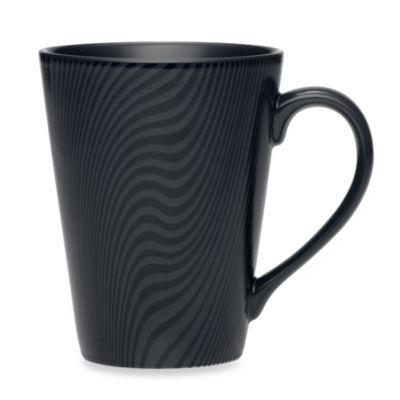 Noritake® Black on Black Dune Mug
