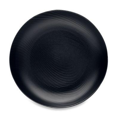 Noritake® Black on Black Dune Round Platter