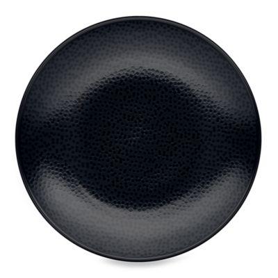 Noritake® Black on Black Snow Round Salad Plate