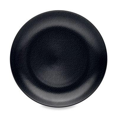 Noritake® Black on Black Snow Round Platter