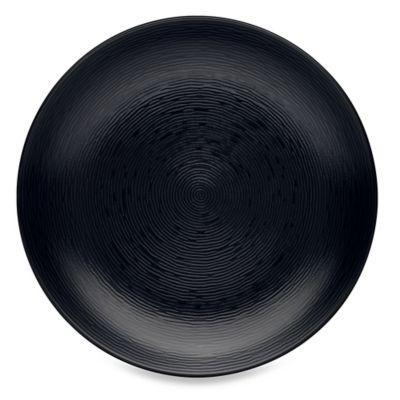 Noritake® Black on Black Swirl Round Platter