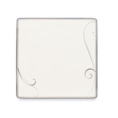 Noritake® Platinum Wave Square 8 1/4-Inch Salad Plate