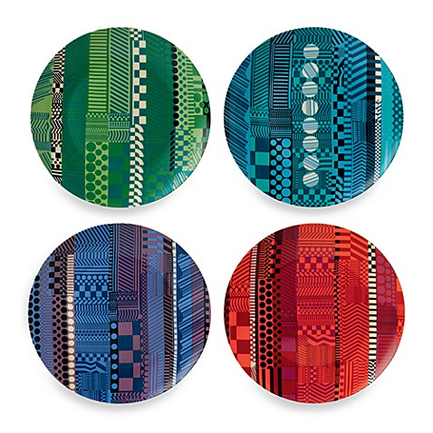 Royal Doulton® Paolozzi 8-Inch Mixed Accent Plate (Set of 4)