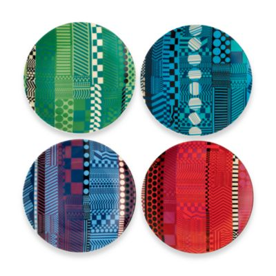 Royal Doulton® Paolozzi 6 3/4-Inch Tidbit Plate (Set of 4)