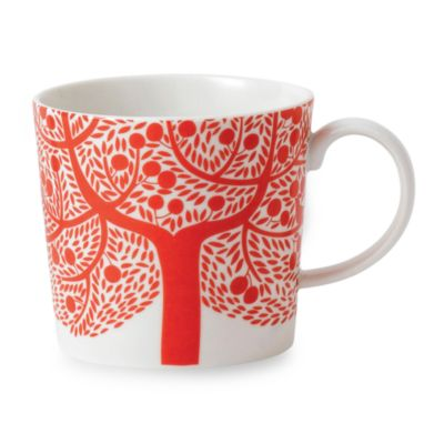 Royal Doulton® Fable Tree Decorated Mug in Red