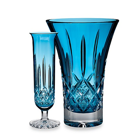 Waterford® Colour Me Lismore Turquoise Vases