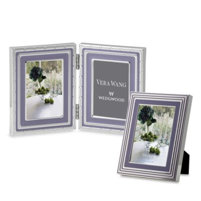 Vera Wang Wedgwood® with Love 5-Inch x 7-Inch Frame in Lavender