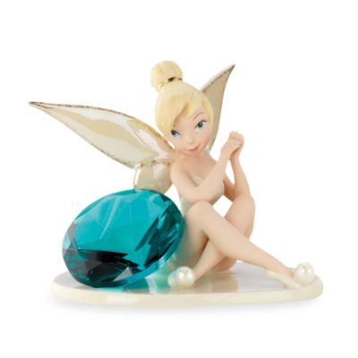 Lenox® Disney Tink's Glittery Gift Sculpture in December Blue Topaz