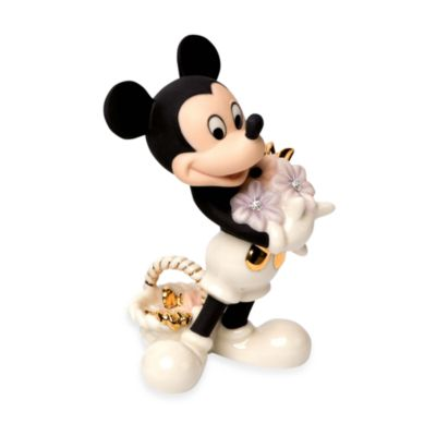 Lenox® Mickey's Flowers For You Figurine
