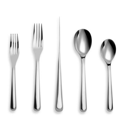 Nambe Aura 5-Piece Flatware Place Setting