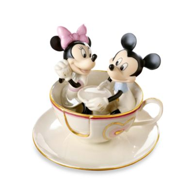 Disney® by Lenox® Mickey's Teacup Twirl Figurine