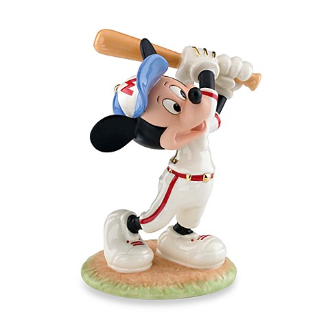 Lenox® Mickey Up At Bat Figurine