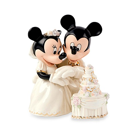 Disney® by Lenox® Minnie's Dream Cake Cake Topper