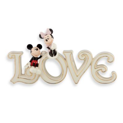 Lenox® Mickey & Minnie True Love Sculpture