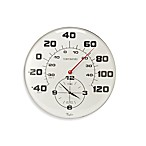18-Inch Patio Thermometer and Clock