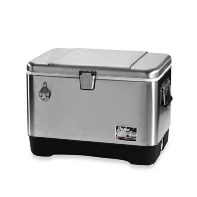 Igloo® Stainless Steel 54-Quart Cooler