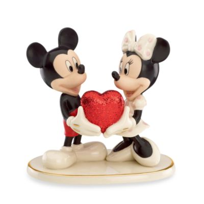 Disney® by Lenox® Sweethearts Forever Mickey & Minnie Sculpture