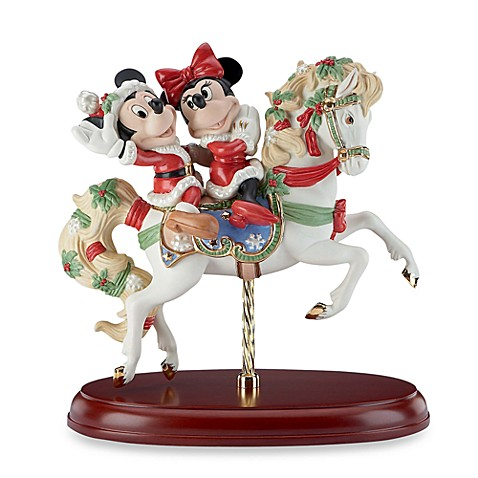 Lenox® Mickey's Christmas Carousel Horse Sculpture